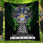 1sttheworld Premium Quilt - St.Leger Irish Family Crest Quilt - Irish Legend A7