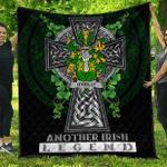 1sttheworld Premium Quilt - Reilly or O'Reilly Irish Family Crest Quilt - Irish Legend A7