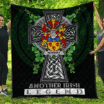 1sttheworld Premium Quilt - Kearney or O'Kearney Irish Family Crest Quilt - Irish Legend A7