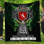 1sttheworld Premium Quilt - House of O'FALLON Irish Family Crest Quilt - Irish Legend A7