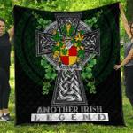1sttheworld Premium Quilt - Packenham Irish Family Crest Quilt - Irish Legend A7