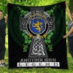 1sttheworld Premium Quilt - House of O'HARTAGAN Irish Family Crest Quilt - Irish Legend A7