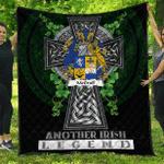 1sttheworld Premium Quilt - McGrail Irish Family Crest Quilt - Irish Legend A7