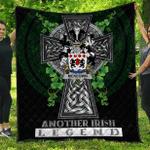 1sttheworld Premium Quilt - McKeown Irish Family Crest Quilt - Irish Legend A7