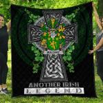 1sttheworld Premium Quilt - Mulcahy or O'Mulcahy Irish Family Crest Quilt - Irish Legend A7