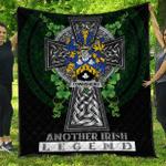 1sttheworld Premium Quilt - Townshend or Townsend Irish Family Crest Quilt - Irish Legend A7