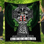 1sttheworld Premium Quilt - Cromie Irish Family Crest Quilt - Irish Legend A7