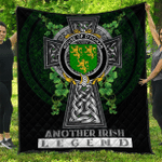 1sttheworld Premium Quilt - House of O'HORAN Irish Family Crest Quilt - Irish Legend A7