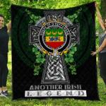 1sttheworld Premium Quilt - House of O'HEFFERNAN Irish Family Crest Quilt - Irish Legend A7