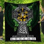 1sttheworld Premium Quilt - Morrison Irish Family Crest Quilt - Irish Legend A7
