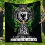1sttheworld Premium Quilt - House of O'BOYLAND Irish Family Crest Quilt - Irish Legend A7