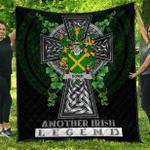 1sttheworld Premium Quilt - Dowd or O'Dowd Irish Family Crest Quilt - Irish Legend A7