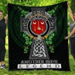1sttheworld Premium Quilt - House of O'QUIN (Thomond) Irish Family Crest Quilt - Irish Legend A7