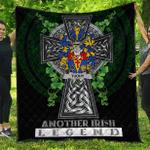 1sttheworld Premium Quilt - Tuohy or O'Toohey Irish Family Crest Quilt - Irish Legend A7