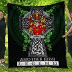 1sttheworld Premium Quilt - Harold or Harrell Irish Family Crest Quilt - Irish Legend A7