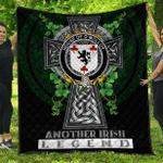 1sttheworld Premium Quilt - House of O'MOLLOY Irish Family Crest Quilt - Irish Legend A7