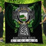 1sttheworld Premium Quilt - House of O'CALLAGHAN Irish Family Crest Quilt - Irish Legend A7