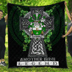 1sttheworld Premium Quilt - Connell or O'Connell Irish Family Crest Quilt - Irish Legend A7