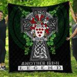 1sttheworld Premium Quilt - Fitz-Row Irish Family Crest Quilt - Irish Legend A7