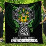 1sttheworld Premium Quilt - Boyle or O'Boyle Irish Family Crest Quilt - Irish Legend A7
