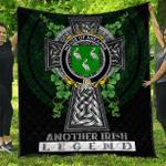1sttheworld Premium Quilt - House of AHEARNE (Aherne) Irish Family Crest Quilt - Irish Legend A7