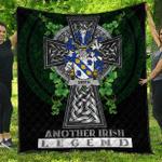 1sttheworld Premium Quilt - Smith or Smyth Irish Family Crest Quilt - Irish Legend A7