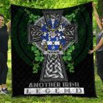 1sttheworld Premium Quilt - Traynor or Trainer Irish Family Crest Quilt - Irish Legend A7