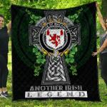 1sttheworld Premium Quilt - House of MACAWLEY Irish Family Crest Quilt - Irish Legend A7