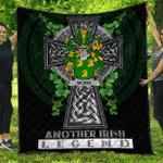 1sttheworld Premium Quilt - Kee or McKee Irish Family Crest Quilt - Irish Legend A7