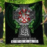 1sttheworld Premium Quilt - Cassidy or O'Cassidy Irish Family Crest Quilt - Irish Legend A7