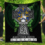 1sttheworld Premium Quilt - Eardley Irish Family Crest Quilt - Irish Legend A7