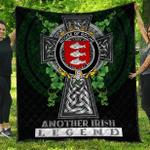 1sttheworld Premium Quilt - House of ROCHE Irish Family Crest Quilt - Irish Legend A7