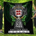 1sttheworld Premium Quilt - House of MACCLANCY Irish Family Crest Quilt - Irish Legend A7