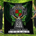 1sttheworld Premium Quilt - House of O'NAGHTEN Irish Family Crest Quilt - Irish Legend A7