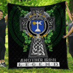 1sttheworld Premium Quilt - House of MARTIN Irish Family Crest Quilt - Irish Legend A7