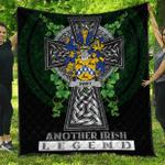 1sttheworld Premium Quilt - Swift Irish Family Crest Quilt - Irish Legend A7
