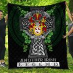 1sttheworld Premium Quilt - Cairnes Irish Family Crest Quilt - Irish Legend A7