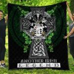 1sttheworld Premium Quilt - McNally Irish Family Crest Quilt - Irish Legend A7