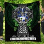 1sttheworld Premium Quilt - Coey or McCoey Irish Family Crest Quilt - Irish Legend A7