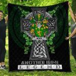 1sttheworld Premium Quilt - More or O'More Irish Family Crest Quilt - Irish Legend A7