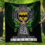 1sttheworld Premium Quilt - House of MORRIS Irish Family Crest Quilt - Irish Legend A7