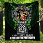 1sttheworld Premium Quilt - Considine or McConsidine Irish Family Crest Quilt - Irish Legend A7
