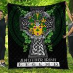 1sttheworld Premium Quilt - Vandeleur Irish Family Crest Quilt - Irish Legend A7