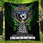 1sttheworld Premium Quilt - House of O'DORAN Irish Family Crest Quilt - Irish Legend A7