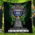 1sttheworld Premium Quilt - House of O'HOLOHAN Irish Family Crest Quilt - Irish Legend A7