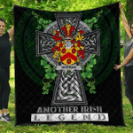1sttheworld Premium Quilt - Norman Irish Family Crest Quilt - Irish Legend A7