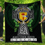 1sttheworld Premium Quilt - House of O'DONNELL Irish Family Crest Quilt - Irish Legend A7
