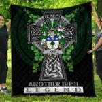 1sttheworld Premium Quilt - Kidd Irish Family Crest Quilt - Irish Legend A7