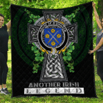 1sttheworld Premium Quilt - House of O'DINNEEN Irish Family Crest Quilt - Irish Legend A7