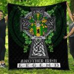 1sttheworld Premium Quilt - Hara or O'Hara Irish Family Crest Quilt - Irish Legend A7